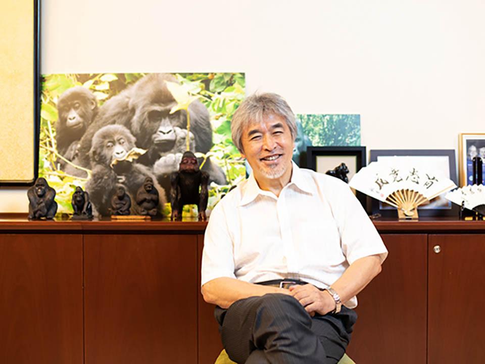 【未来ビジョン】《山極壽一さんインタビュー》ゴリラたちから学ぶ 〜人間の本質と未来の姿〜