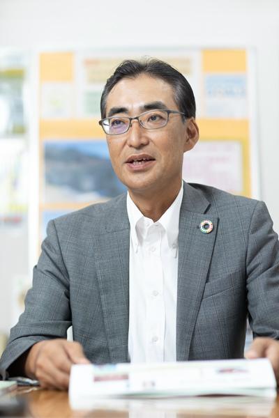 株式会社日本フードエコロジーセンター 代表取締役 獣医師 髙橋巧一さん
