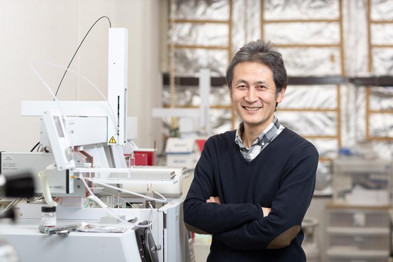 東京大学大学院農学生命科学研究科の東原和成さん