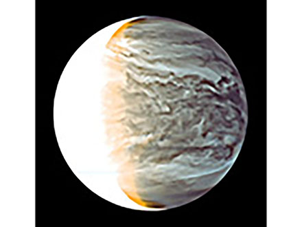 金星の大気高速周回、原因は熱が生む波 探査機あかつきで解明