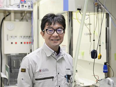 理研 仁科加速器科学研究センター・超重元素合成研究チームリーダーの羽場宏光さん