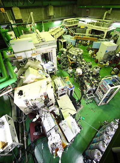 GARISは磁力を使って、目的の原子核だけを検出器に届ける役割を果たす。※画像提供:理化学研究所