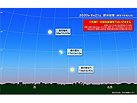 21日に全国で部分日食、次は10年後