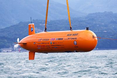 自律型海中ロボット「AUV-NEXT」※画像提供:Team KUROSHIO