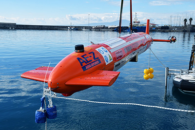 自律型海中ロボット「AE-Z」※画像提供:東京大学生産技術研究所
