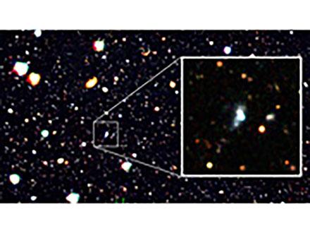 """年齢1000万年の""""赤ちゃん銀河""""を発見 国立天文台などのチーム"""