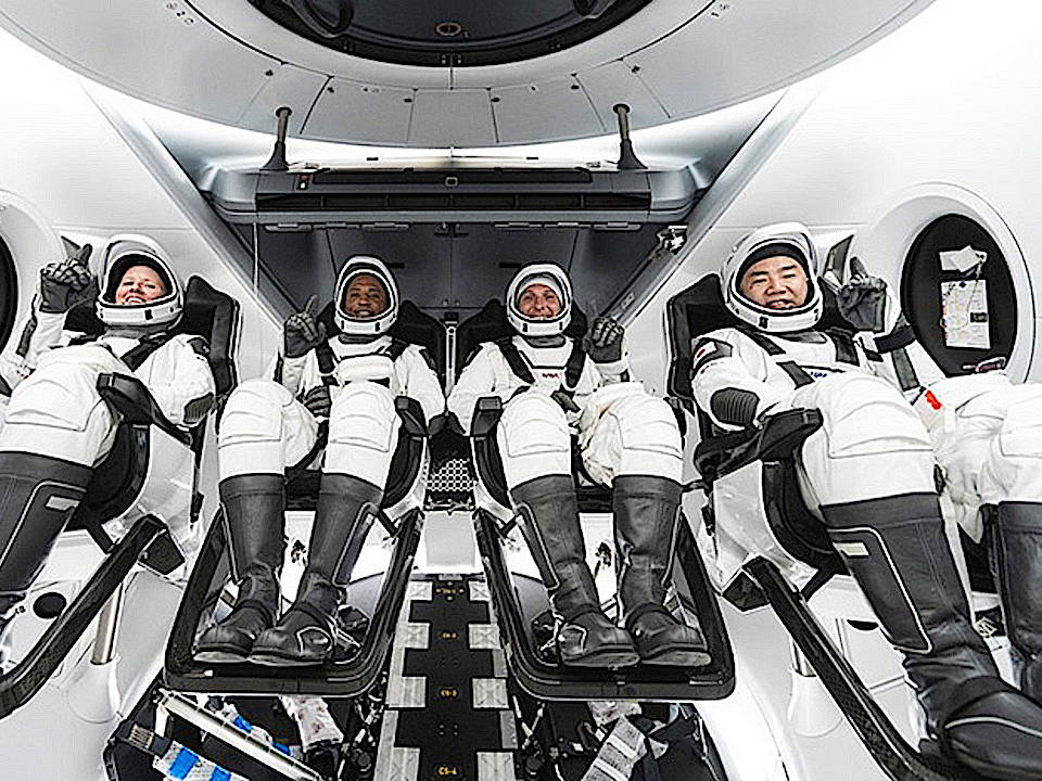 新型宇宙船に搭乗、2人目船長 存在感高める日本人飛行士