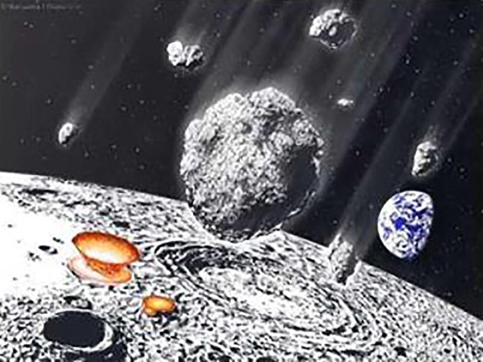 8億年前、地球に起きた天体衝突に迫る 手がかりは月のクレーター