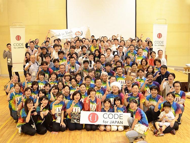 行政と市民を結びつけるコード・フォー・ジャパン(写真提供:関治之)