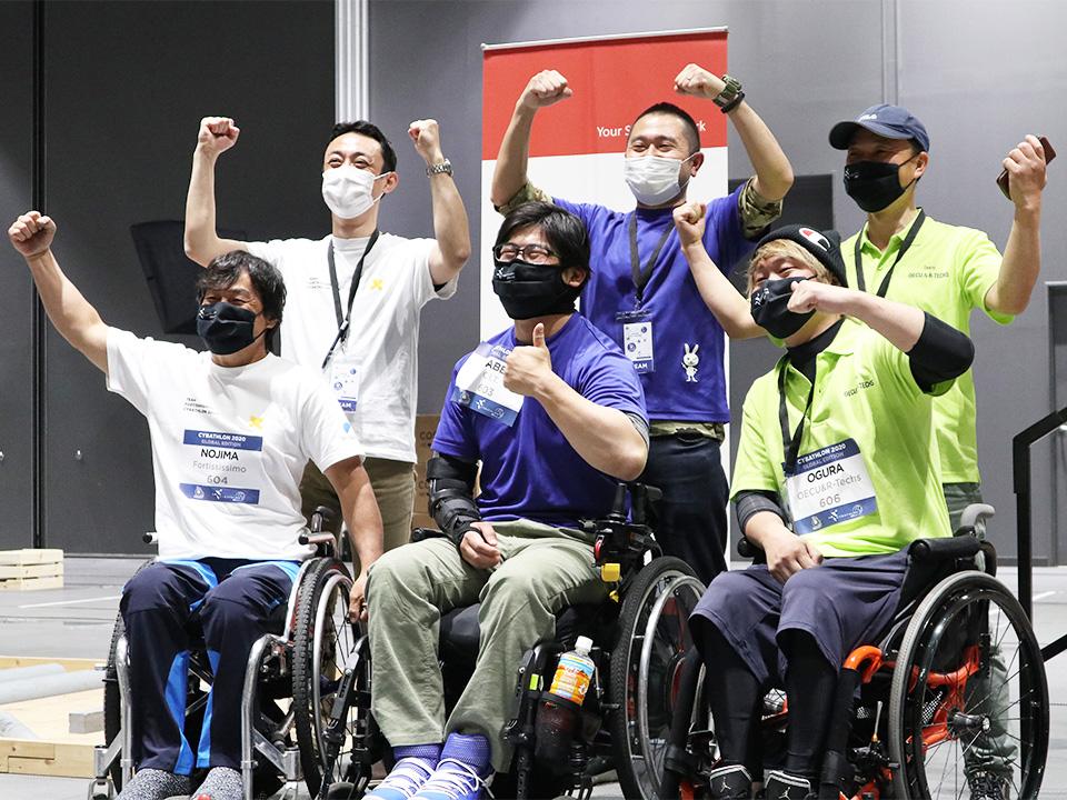 《JST共催》福祉機器の未来像に挑んだサイバスロン大会 一般参加者とも交流