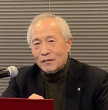 昨年11月30日に日本科学ジャーナリスト会議主催の「JASTJ月例会」で講演する宮坂昌之氏