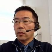 日本記者クラブ主催のオンライン記者会見で発言する石井健氏(日本記者クラブ提供)