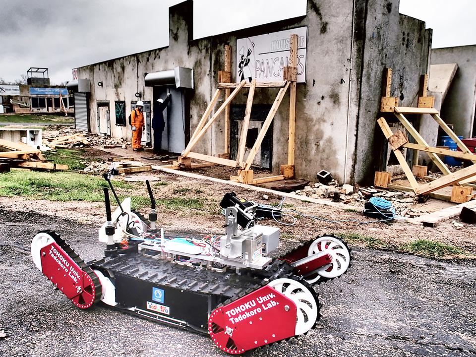 2つの大震災を超えて-「タフ」なロボットで目指す災害に強い国づくり《東北大学・田所諭先生インタビュー》