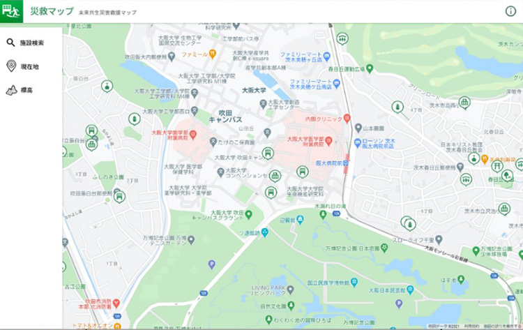 未来共生災害救援マップ(災救マップ)https://map.respect-relief.net/