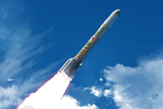 H3ロケットの想像図(JAXA提供)