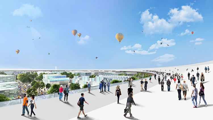 2025年「大阪・関西万博」の会場イメージ(画像提供:2025年日本国際博覧会協会)