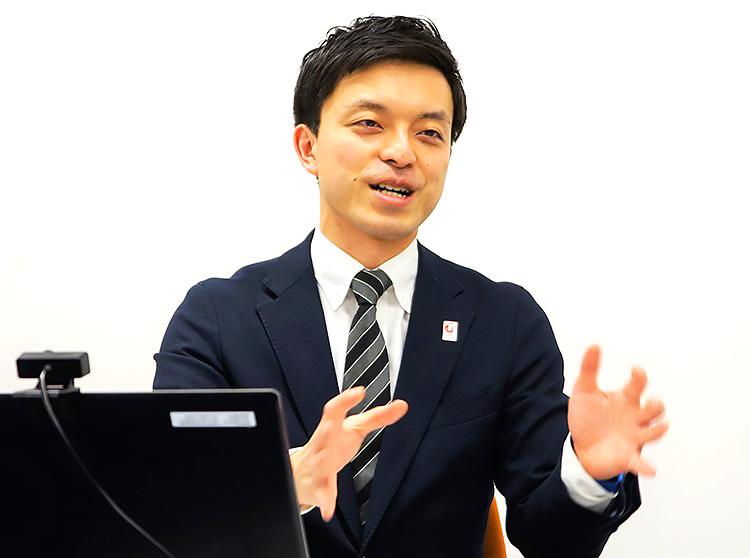 2025年日本国際博覧会協会 今村さん(インタビュー取材は2021年3月に実施)