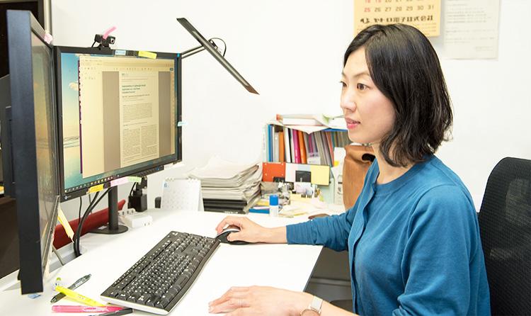 超小型・省電力CPUの開発に成功した東京工業大学工学院准教授の原祐子さん