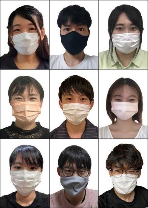マスクは人の魅力にどう影響するのだろう(河原純一郎北海道大学教授提供)