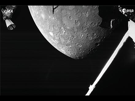 「こんにちは、またね!」 日欧探査機、4年後到着に向け水星に初接近