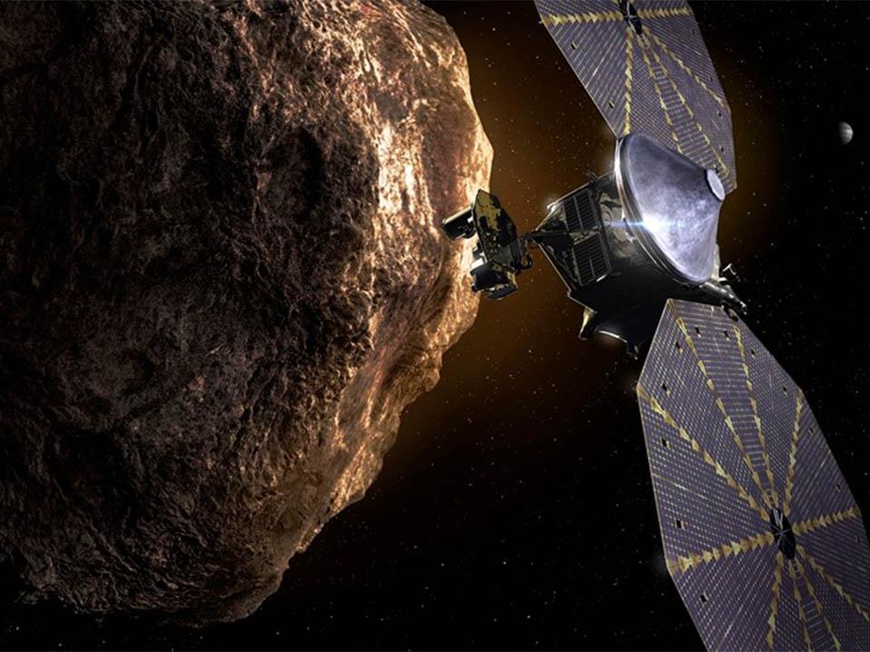 木星が太陽の周りを回る軌道上のものを中心に、8つの小惑星を調べる米探査機「ルーシー」が地球を出発