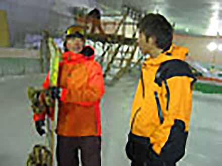 アスリート解体新書 (30)スノーボード(ハーフパイプ) 〜驚異の空中技〜