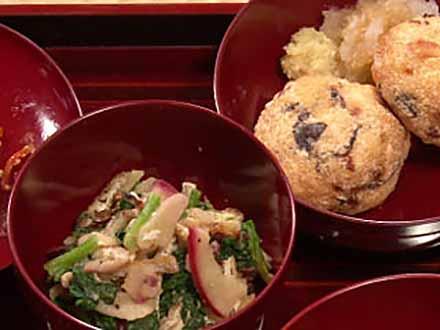 おいしさの扉 (3)食事&風土〜日本の食文化と伝統〜【中編】精進料理 調理の工夫を科学する