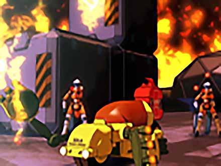U.H.O.フューチャーレスキュー2061 (17)第17話〜フュージョンシティーの攻防〜【シーズン3】