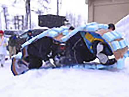 サイエンスバトル (24)雪上ベルトマシーンレース