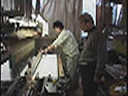 """匠の息吹を伝える〜""""絶対""""なき技術の伝承〜 (60)布の織りなす小宇宙 〜自動織機パターン開発〜"""
