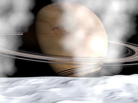 サイエンスニュース2015 地球外生命の可能性!? 土星の衛星・エンセラダスの海(2015年7月22日配信)