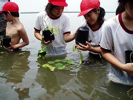 地域と宇宙から霞ヶ浦再生 小学生とリモセン研究者ー 第2回「地域再生プロジェクトに発展」