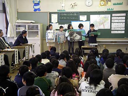 地域と宇宙から霞ヶ浦再生 小学生とリモセン研究者ー 第3回「市長も子供たちの提案に耳」