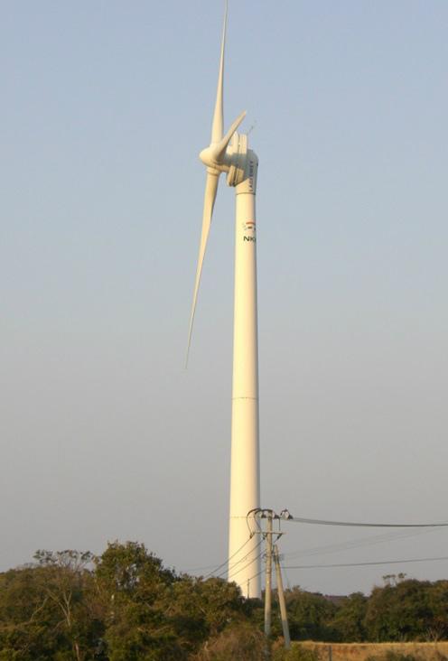 壱岐芦辺風力発電所 (画像提供:壱岐市)