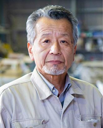 伝統工芸高岡銅器振興協同組合 理事長 梶原壽治さん
