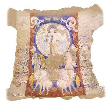 「天翔る太陽神」の想定復元図 写真提供:東京藝術大学COI拠点