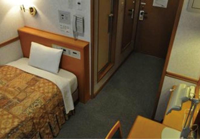 宿泊室 画像提供:ハイパフォーマンスセンター