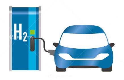 選手村内の巡回バスなど、大会車両には水素を燃料とする燃料電池自動車が使用される予定
